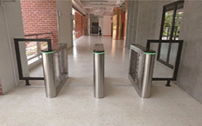 Starena Security Gate Acess Control Swing Barrier - DSB 450 Installations